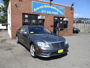 2010 Mercedes-Benz S 550 4MATIC