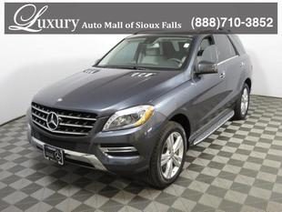 2015 Mercedes-Benz ML350W4