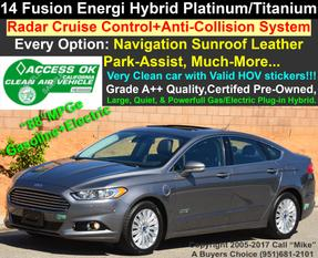 2014 Ford Fusion Energi Titanium