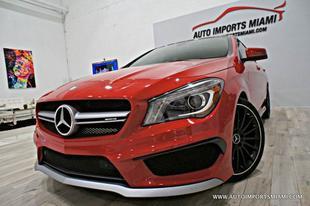 2014 Mercedes-Benz CLA 45 AMG 4MATIC