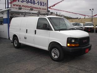 2013 GMC Savana 3500 Work Van