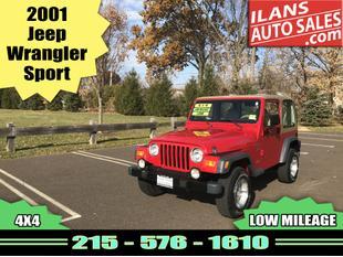 2001 Jeep Wrangler Sport