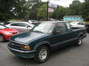 1997 Chevrolet S-10 LS Extended Cab
