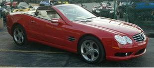 2004 Mercedes-Benz SL500 Roadster