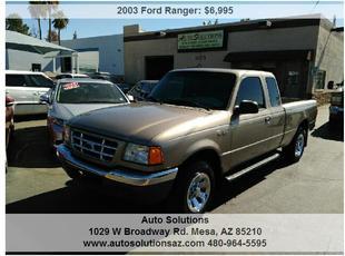 2003 Ford Ranger XLT SuperCab