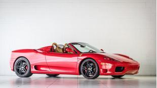 2004 Ferrari 360 Spider F1
