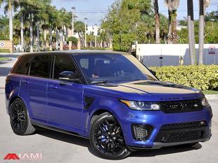 2016 Land Rover Range Rover Sport Supercharged SVR