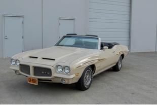 1971 Pontiac GTO NO TRIM FIELD