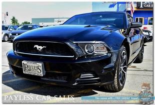 2014 Ford Mustang COUPE/MANUAL TRANSMISSION/CRUISE CONTROL/BACK-UP C