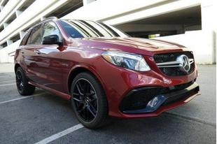 2017 Mercedes-Benz AMG GLE 63 Base 4MATIC
