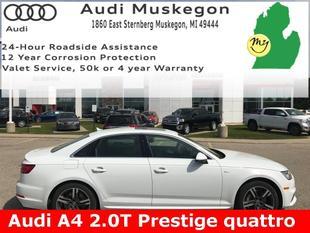 2017 Audi A4 2.0T Prestige