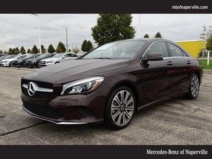 2018 Mercedes-Benz CLA 250 Base 4MATIC