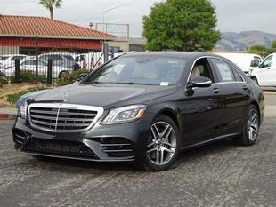 2018 Mercedes-Benz S 560 4MATIC