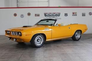 1971 Plymouth Barracuda NO TRIM FIELD
