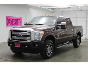 2016 Ford F-350 Platinum