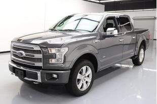 2015 Ford F-150 4x4 Platinum 4dr SuperCrew 5.5 ft. SB