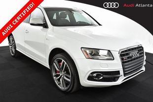 2017 Audi SQ5 3.0T Prestige quattro