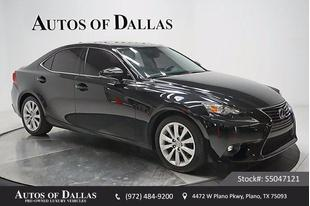 2015 Lexus IS 250 250 SUNROOF KEY-GO 17IN WLS HID LIGHTS