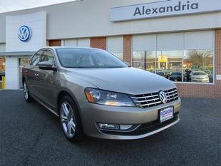 2015 Volkswagen Passat 1.8T Auto SEL Premium PZEV
