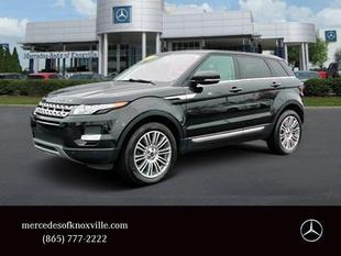 2012 Land Rover Range Rover Evoque Pure Plus