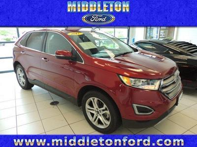 Certified 2017 Ford Edge Titanium