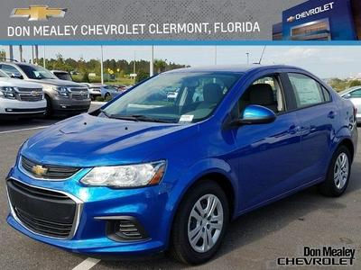 New 2017 Chevrolet Sonic LS