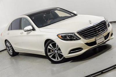 Certified 2015 Mercedes-Benz S 550