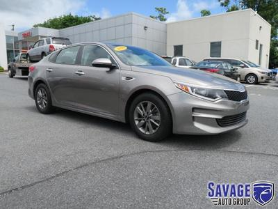 New 2016 Kia Optima LX Turbo