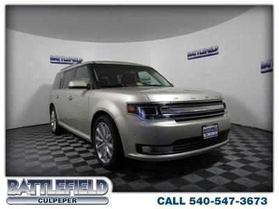 New 2018 Ford Flex Limited w/EcoBoost