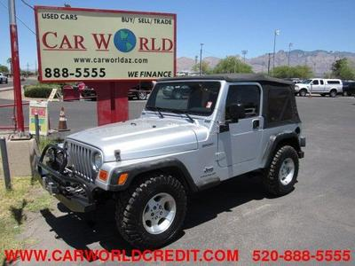 Used 2003 Jeep Wrangler Sport