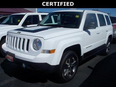 Certified 2016 Jeep Patriot Sport