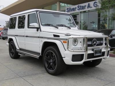 New 2017 Mercedes-Benz AMG G 63 Base 4MATIC