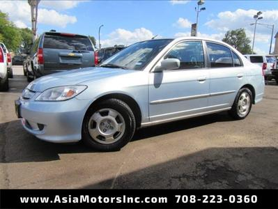Used 2005 Honda Civic Hybrid