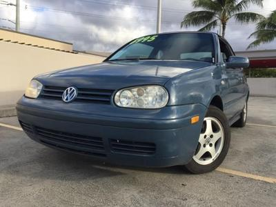 Used 2000 Volkswagen Cabrio GLS
