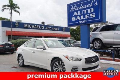 Used 2014 INFINITI Q50 Premium