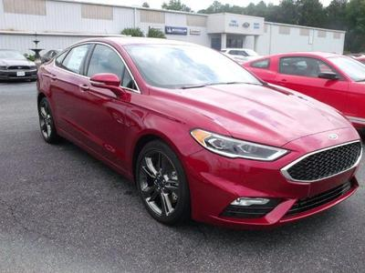 New 2017 Ford Fusion Sport