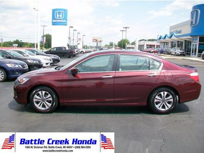 Certified 2015 Honda Accord LX
