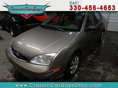 Used 2005 Ford Focus ZX4 S