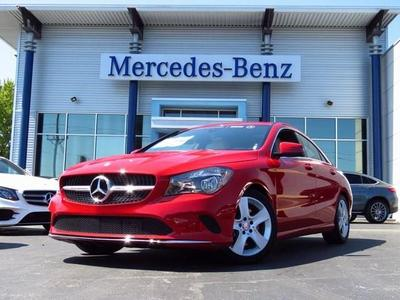 Certified 2017 Mercedes-Benz CLA 250 CLA250C4