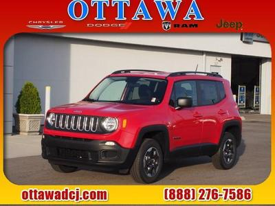 New 2016 Jeep Renegade Sport