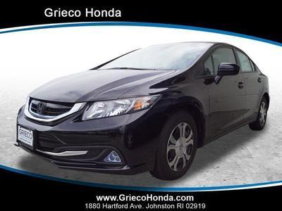 New 2015 Honda Civic Hybrid