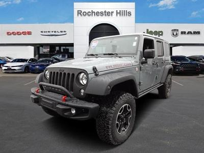Certified 2015 Jeep Wrangler Unlimited Rubicon