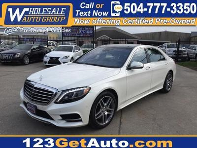 Used 2014 Mercedes-Benz S550
