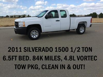 Used 2011 Chevrolet Silverado 1500 Work Truck