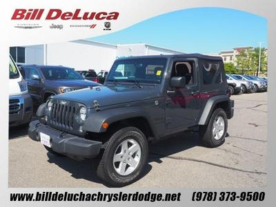 Used 2016 Jeep Wrangler Sport