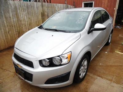 Used 2012 Chevrolet Sonic 2LS
