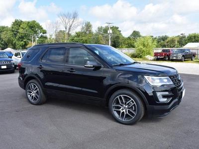 New 2017 Ford Explorer sport