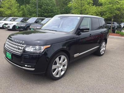 New 2017 Land Rover Range Rover 5.0L Supercharged