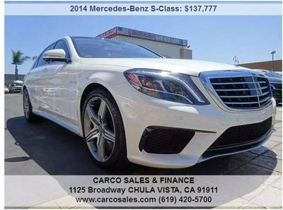 Used 2014 Mercedes-Benz S63 AMG