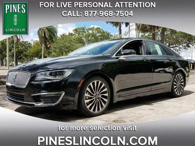 New 2017 Lincoln MKZ Black Label